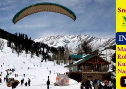 Snow Covered Manali